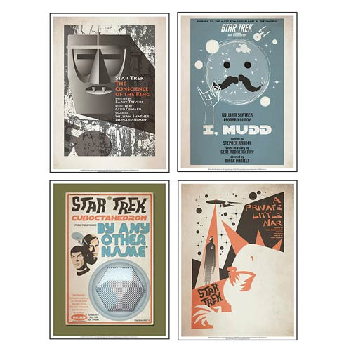 Star Trek The Original Series Poster Set 16
