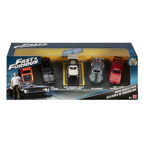 Fast and Furious 1:55 Scale Muscle Car 5-Pack Case