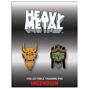 Heavy Metal Movie Set B Lapel Pin 2-Pack