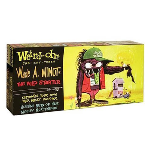 Weird-Ohs Wade A. Minut Model Kit