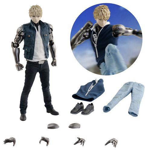 One Punch Man Season 2 Genos Deluxe Version 1:6 Scale Action Figure