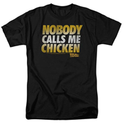 Back to the Future Nobody Calls Me Chicken T-Shirt