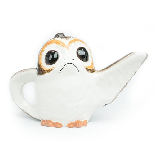Star Wars: The Last Jedi Porg 37 oz. Sculpted Ceramic Teapot