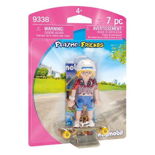 Playmobil 9338 Playmo-Friends Skateboarder Figure