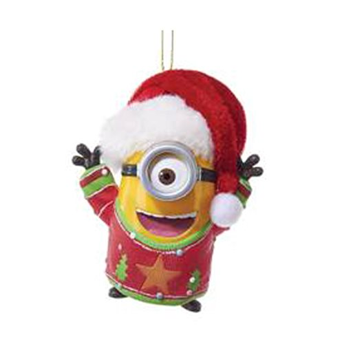 Despicable Me Minion with Lights and Sounds Ornament - Despicable Me Minion With Lights And Sounds Ornament - Entertainment