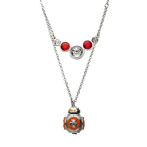 Star Wars: Rise of Skywalker BB-8 Tiered Steel Necklace