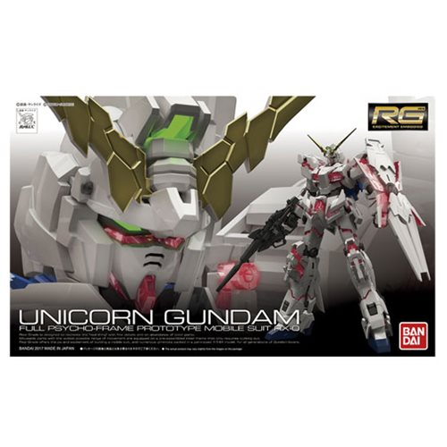 Gundam Unicorn Real Grade 1:144 Scale Model Kit