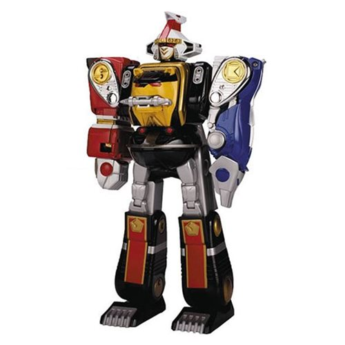 Mighty Morphin Power Rangers Legacy Ninja Megazord Action Figure