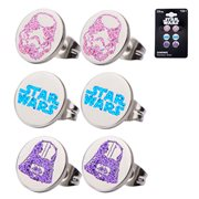 Star Wars Stainless Steel Stud Earring Set
