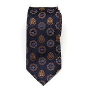 Aladdin Lamp and Cave of Wonders Scattered Blue Men's Tie