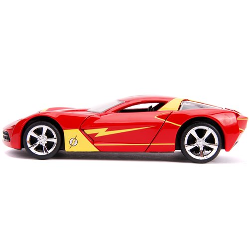 Flash 2009 Corvette Stingray Concept 1:32 Scale Die-Cast Metal Vehicle