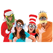 Dr. Seuss Cartoon Eyes Glasses