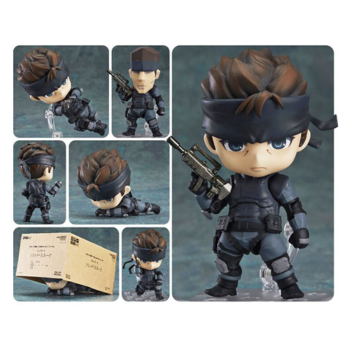 Metal Gear Solid Solid Snake Nendoroid Figure