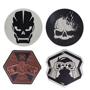 Call of Duty Metal Coasters 4-Pack
