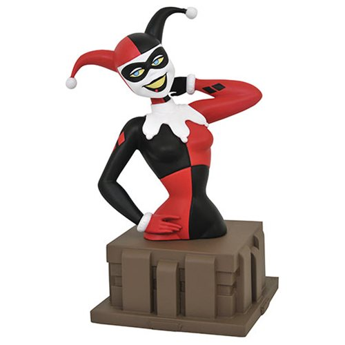 Batman: The Animated Series Harley Quinn Harlequinade Bust