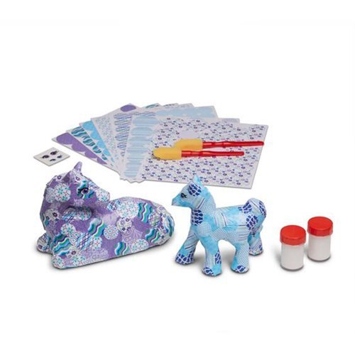 Melissa & Doug Decoupage Made Easy Deluxe Craft Set Horse and Pony