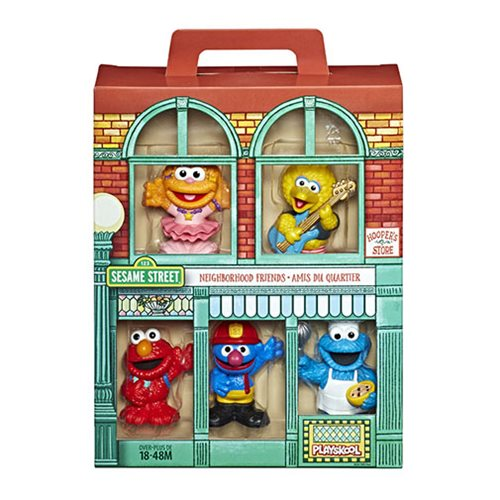 Sesame Street Neighborhood Friends Mini-Figures
