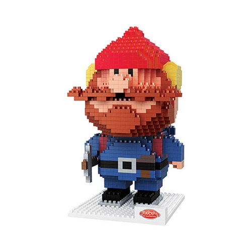 Rudolph the Red-Nosed Reindeer Yukon Cornelius 3D BRXLZ Construction Set