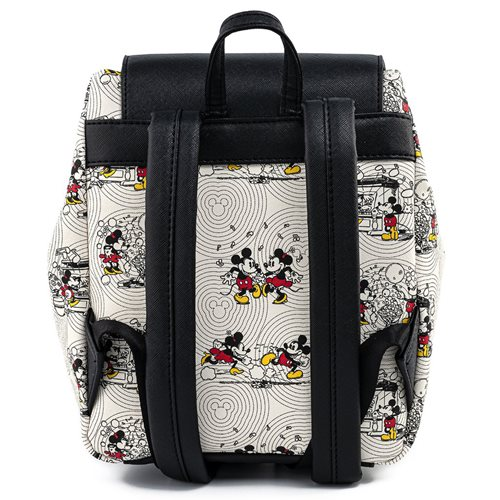 Disney Mickey and Minnie Mouse Poses with Minnie Bow Backpack