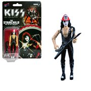 KISS Rock and Roll Over The Starchild with Firehouse Red Hat 3 3/4-Inch Action Figure Series 4
