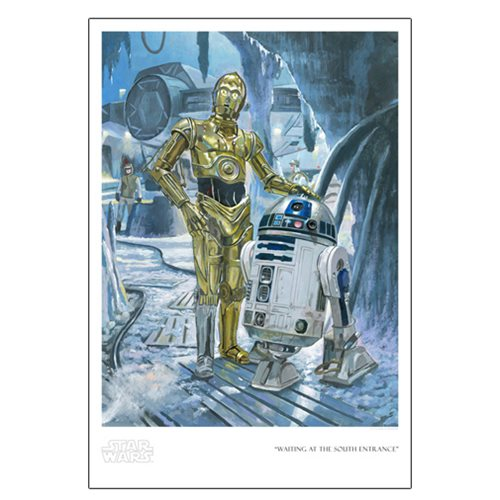 Star Wars Waiting at the South Entrance by Bryan Snuffer Paper Giclee Art Print
