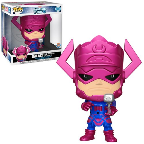 Marvel Galactus Metallic Version Jumbo 10-Inch Pop! Vinyl Figure - Previews Exclusive