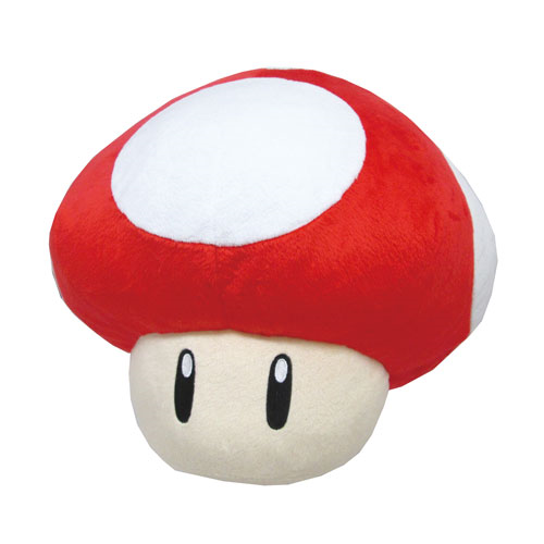 Super Mario Bros. Super Mushroom Pillow