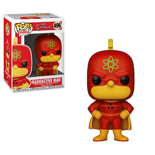 Simpsons Homer Radioactive Man Pop! Vinyl Figure