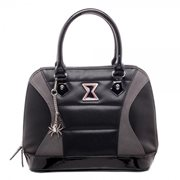 Black Widow Satchel Handbag