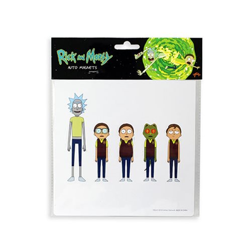 Rick and Morty Magnet 5-Pack Set