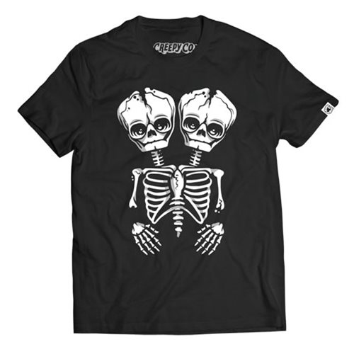 Ars Moriendi Conjoined Skeleton T-Shirt