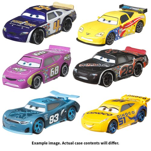 Cars 3 Character Cars 2021 Mix 8 Case