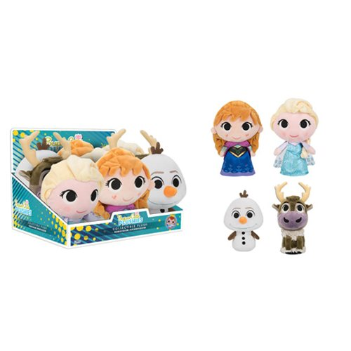 Frozen Super Cute Plushies Display Case