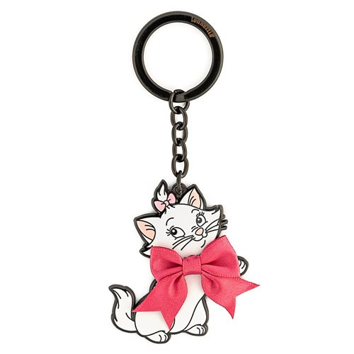 Aristocats Marie Bow Enamel Key Chain