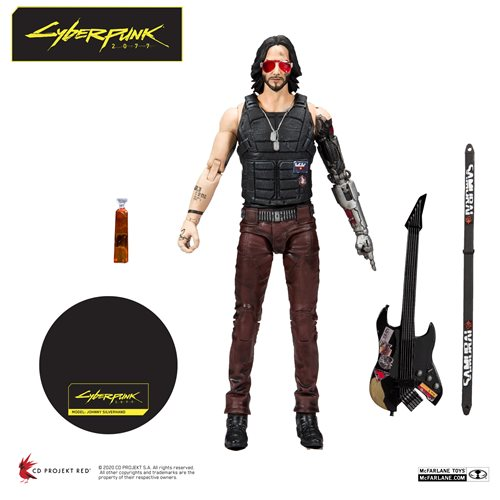 Cyberpunk 2077 Johnny Silverhand 7-Inch Action Figure