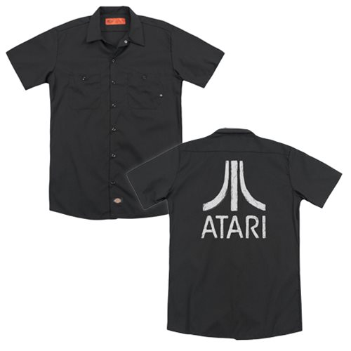 Atari Rough Logo Work Shirt