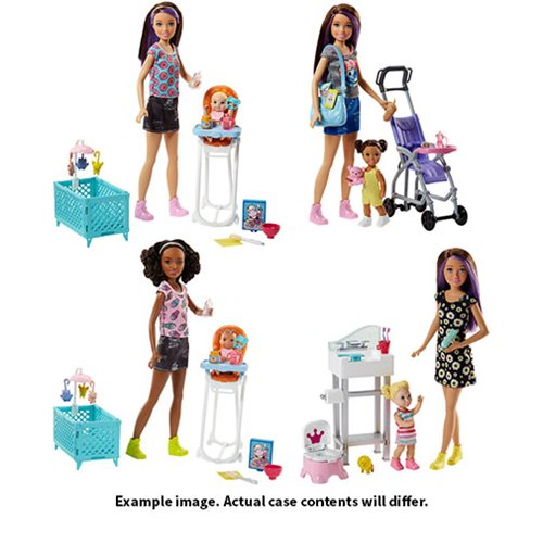 Barbie Skipper Babysitter Inc. Playset Accessory Case