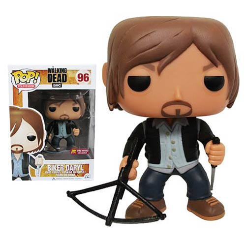 The Walking Dead Biker Daryl Dixon Previews Exclusive Pop Vinyl Figure