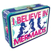 I Believe in Mermaids Regular Fun Box Tin Tote