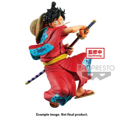 One Piece King of Artist The Monkey D Luffy Wanokuni Statue