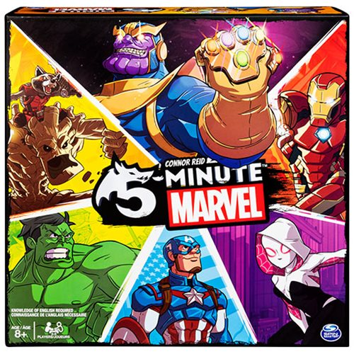 5-Minute Marvel Card Game