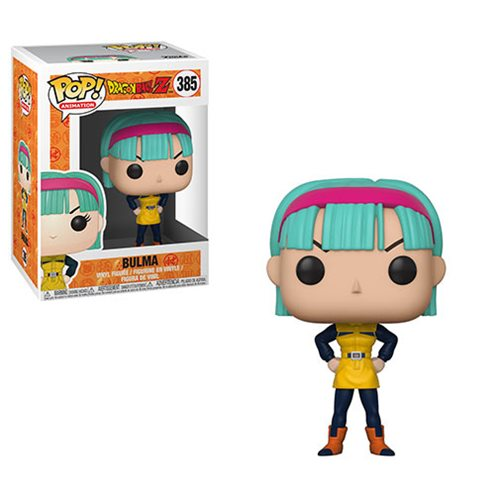 Dragon Ball Z Bulma Pop! Vinyl Figure #385