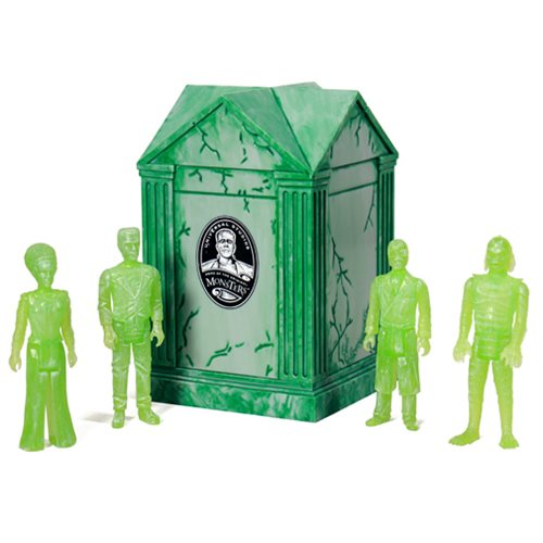 Universal Monsters Haunted Crypt with Action Figure 4-Pack - New York Comic-Con 2015 Exclusive