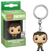 Fortnite Highrise Assault Trooper Pocket Pop! Key Chain