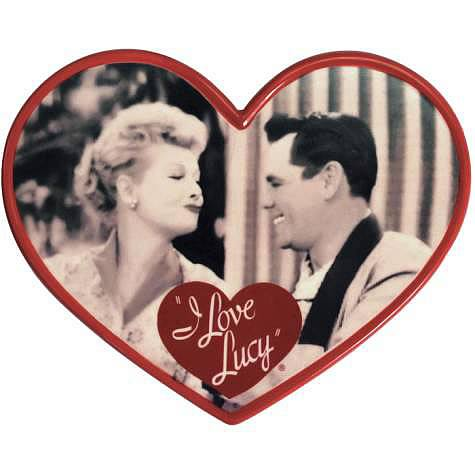 I Love Lucy Lucy and Ricky Ceramic Photo Plaque