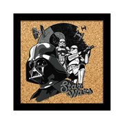 Star Wars Darth Vader and Stormtroopers Cork Wall Art