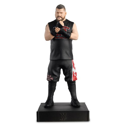 WWE Championship Collection Kevin Owens Statue with Collector Magazine