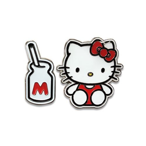 Hello Kitty Lovely Hello Kitty Enamel Pin Set
