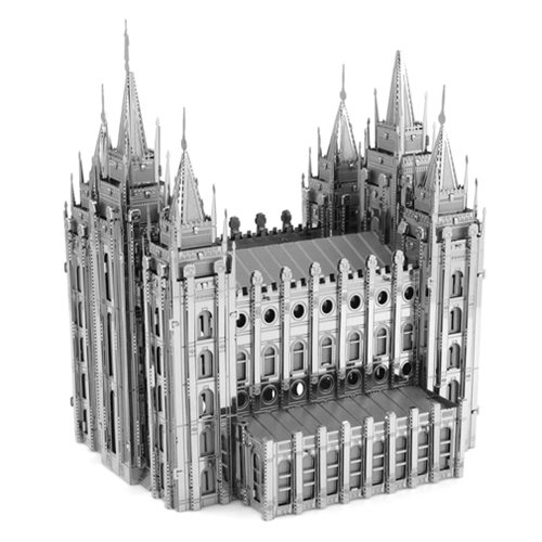 Salt Lake City Temple Metal Earth Iconx Model Kit