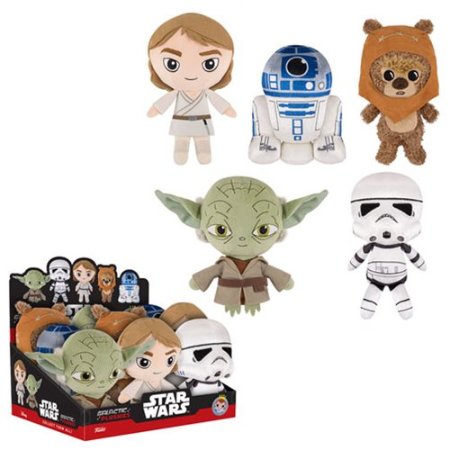 Star Wars Classic 8-Inch Galactic Plushies Wave 2 Case